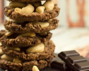 Low Carb Schoko Nuss Cookies
