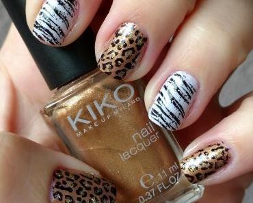 [Nails] Frischlackiert-Challenge: AFRIKA mit KIKO 480 Pearly Brass und essie 315 find me an oasis