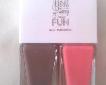 [Review] essence Girls just wanna have Fun duo nail polish 02 who run the world? girls! + essence Girls just wanna have Fun lipstick 02 barbie girl (LE)