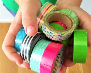 Voll cool: Basteln und dekorieren mit Washi Tapes & Post its