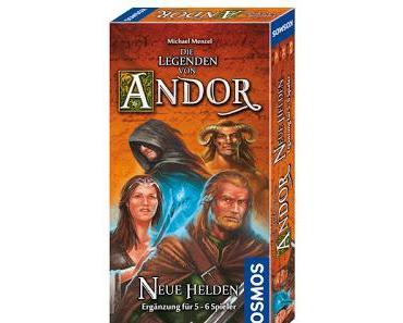 Die Legenden von Andor - Neue Helden