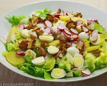 Hausmannskost: Kartoffelsalat mit Endivie