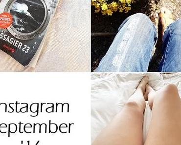 Der Monat September in Instagram Bildern
