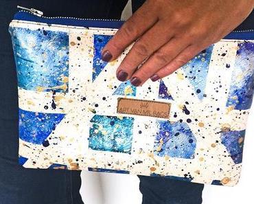 """Makerist-Kurs """"Stoffe mit Mustern und Motiven gestalten"""" …ich habe es ausprobiert und ein kleines Kunstwerk ist entstanden"""