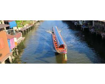 Bangkok Kanaltour mit dem öffentlichen Khlongboot in Thonburi