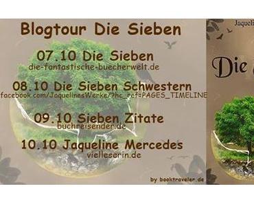 """Blogtour: Die Sieben"""" heute: Autoren Interview mit Jaqueline Mercedes"""