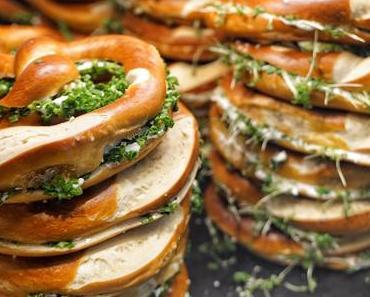 BREZELINA – liebevoll für Dich gemacht - frisch belegte Brezen und hausgemachtes Kartoffelpüree am Stachus und Marienplatz