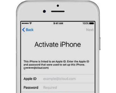 Neue iPhones mit falscher Apple-ID