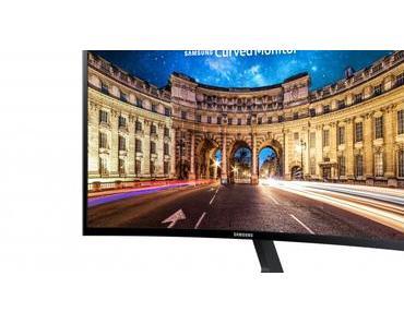 Samsung CF396 LED Curved: Lohnt sich dieser Monitor?