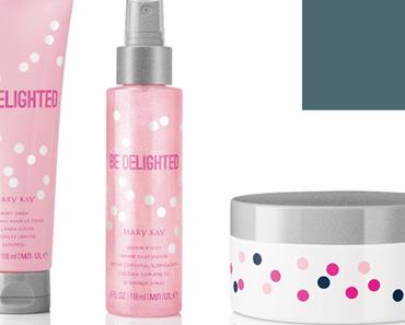 Entzückende Beauty-Helfer mit Glamour-Faktor: Die neuen, limitierten Mary Kay® Be Delighted-Produkte