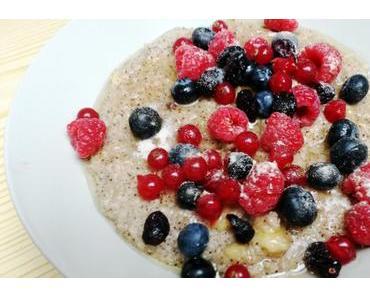 Zweierlei Porridge-Varianten ;)
