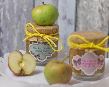 Apfel-Vanille Marmelade