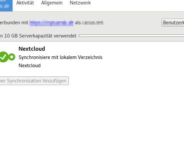 Ubuntu: Nextcloud Client installieren