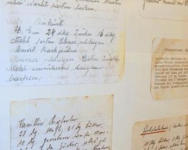 Alte Rezepte - neu interpretiert: Kunst für die Küche
