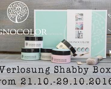 Verlosung Lignocolor Shabby Box Kreidefarben-Set