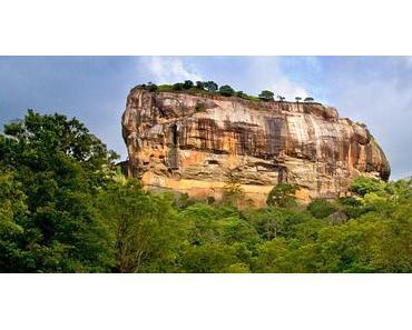 Sri Lankas Regenwald (Dschungel) von oben betrachtet