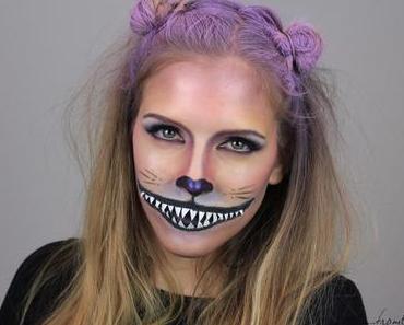 Halloween Make Up – Grinsekatze