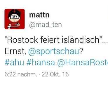 AHU! Sportschau. AHU?