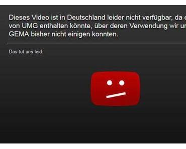 YouTube schliesst mit GEMA Lizenzvertrag ab