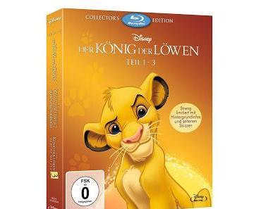 Der König der Löwen - Teil 1-3 Collector's Edition