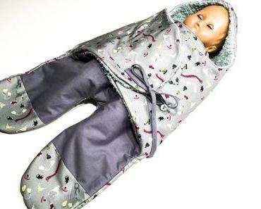 Mein neues eBook: Baby-Einschlaganzug – Baby-Einschlagdecke mit Beinen