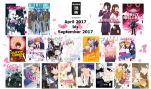 Egmont kündigt Manga-Frühjahrsprogramm 2017 an