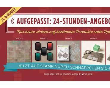 Online Preisspektakel ab Montag 21. November, tolle Rabatte