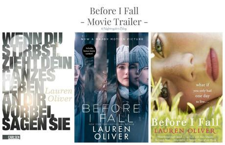 "[Dit & Dat] Movie Trailer – ""Before I Fall"" von Lauren Oliver"
