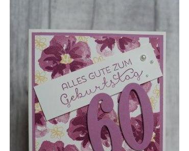 60ter Geburtstag