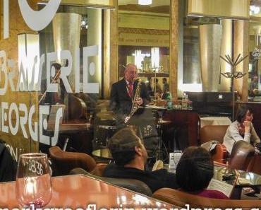 Lyon am Abend – Brasserie Georges