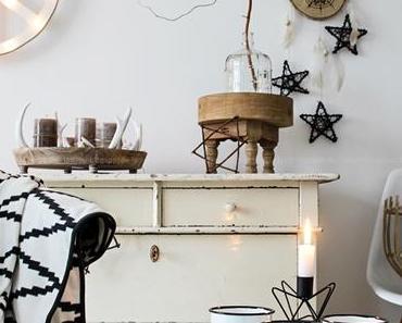 Boho - Christmas - DIY - Wandschmuck