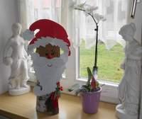 DIY – Weihnachtsmann für das Fenster