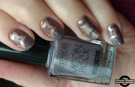 [Nails] CATRICE MOON ROCK 06 Magical Bluelight & C01 Interstellar