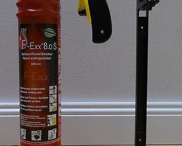 Leichter Feuerlöscher für mehr Sicherheit zu Hause