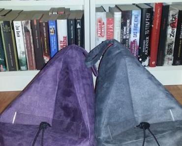 Book Seat – Lesesack, Buchstütze, Bücherkissen und Schenkelwärmer