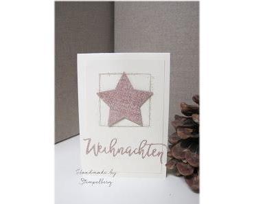 Noch mehr Weihnachtskarten...
