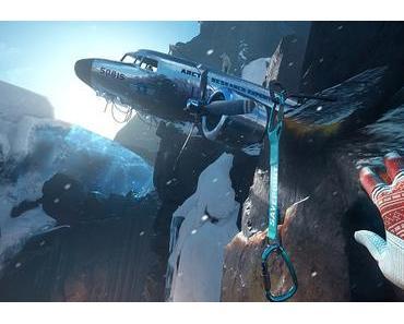Der atemberaubende Winterschauplatz Nord für Cryteks VR-Kletterspiel The Climb ist ab sofort verfügbar
