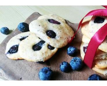 Christmas Bakery: Orangen-Heidelbeer-Kekse