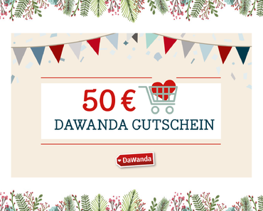 24 Days of Christmas Blogging: 50€ Dawanda Gutschein