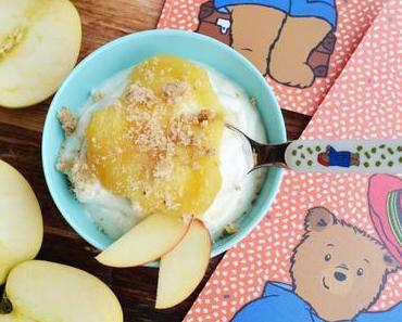 Süße Weihnachten mit Paddington! Luftig, leichter Apfelschnee