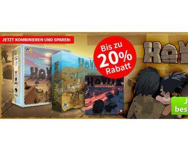 Spiele-Offensive Aktion - Der Hoyuk Kombideal