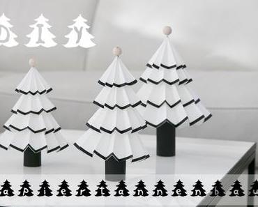 DIY Papiertannenbäume