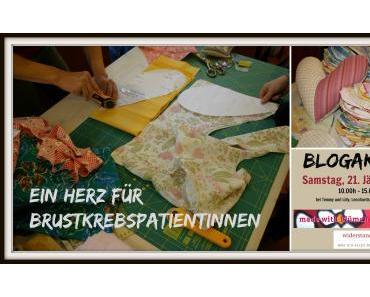 """Einladung zur Blogaktion """"Herzkissen nähen"""""""