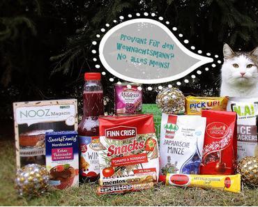 Die Dezember Brandnooz Box bringt Proviant für den Weihnachtsmann