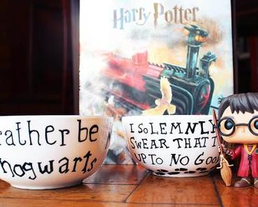 DIY: Weihnachtsgeschenke selbermachen | Harry Potter Porzellan
