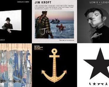 JAHRESPOLL: Das sind die besten Alben 2016