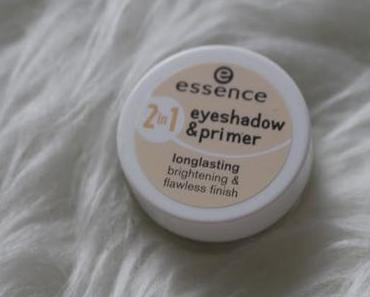 Essence 2 in 1 eyeshadow and primer longlasting brightening and flawless finish Review + Clean Eating Low Carb Selbstoptimierungs Hype