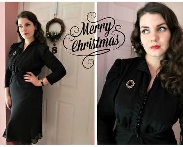 Weihnachtskleid Sew Along ~ Das Finale