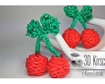 Rainbow Loom - 3D Kirschen
