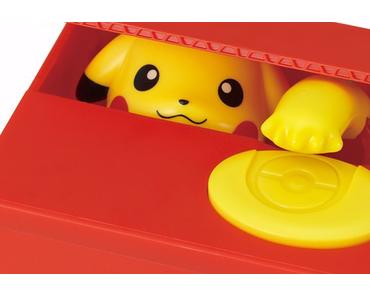 Mit Pikachu Geld sparen – Pokémon Spardose